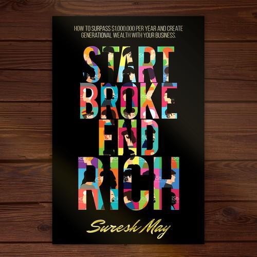 Bold typo book cover