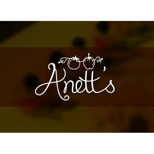 Sophisticated logo wanted for Anett's - high-end catering company