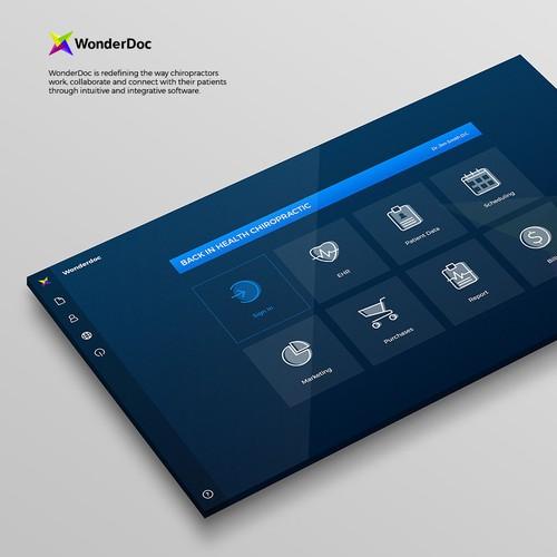 WonderDoc Software UI Concept
