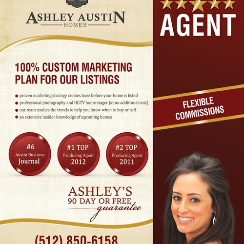 New postcard or flyer wanted for Ashley Austin Homes