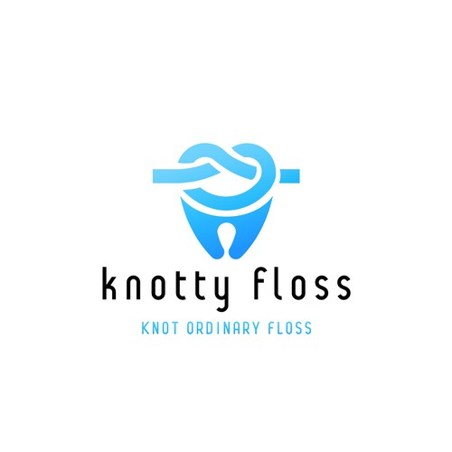 Create the next logo for knotty floss