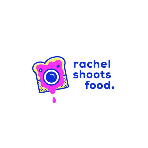 A Funky + Bold logo for a food photographer