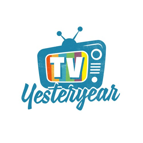 Logo design for a retro TV channel