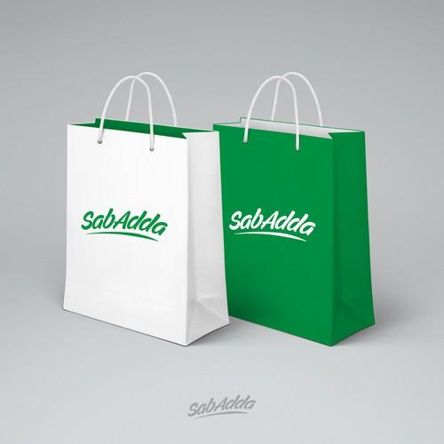 SabAdda Logo Design