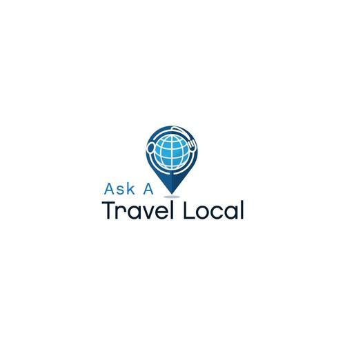 A Food Traveler App Logo