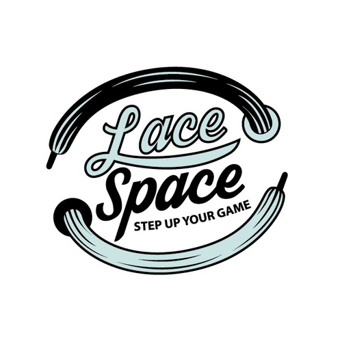 Create a stylish and memorable illustration for Lace Space!
