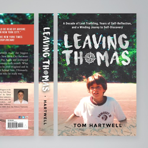 Book Cover, Leaving Thomas