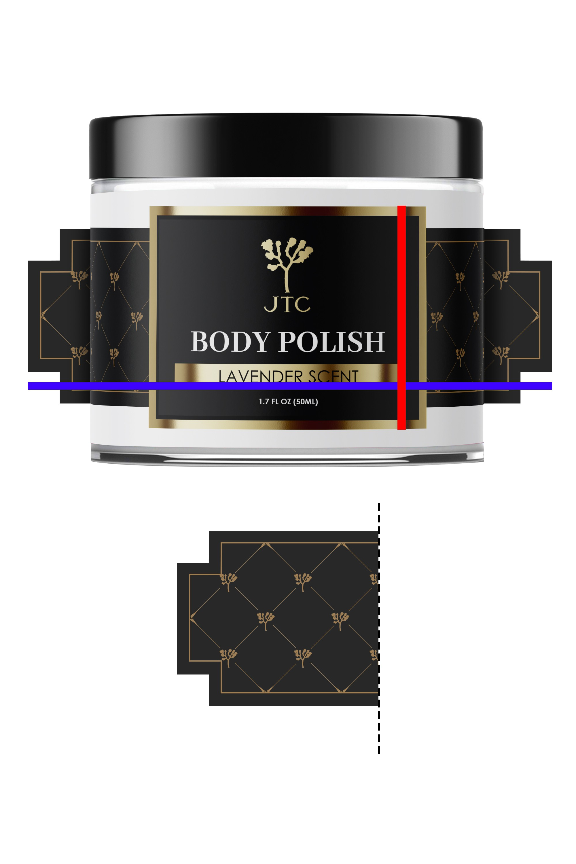 Body Care Product Label