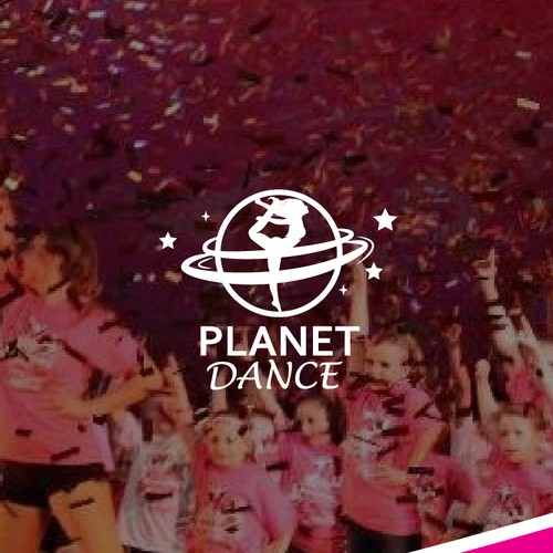 Planet + Dance logo for Physical fitness