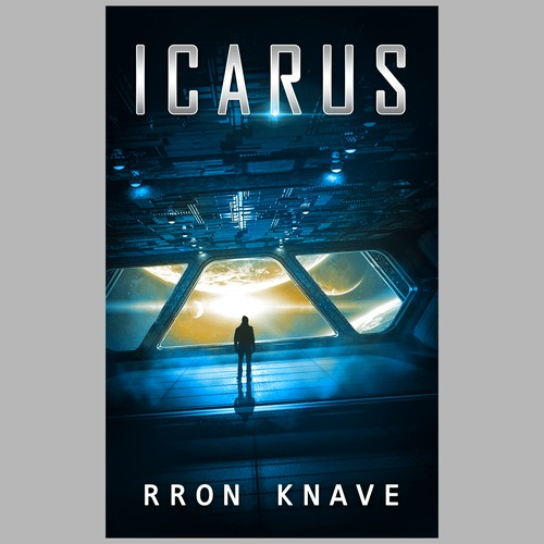 Book cover for a sci-fi novel