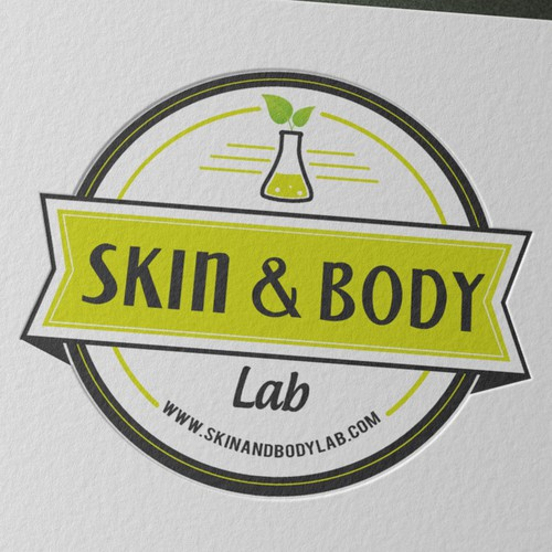 Fresh, modern logo for Skin & Body Lab