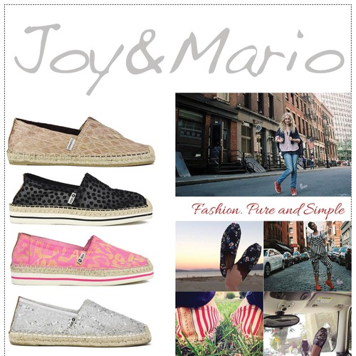 Create a unique full page ad to launch a new footwear brand!
