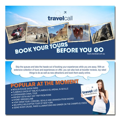 Design a luxury travel flyer!