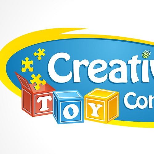 Creative Toy Company logo design
