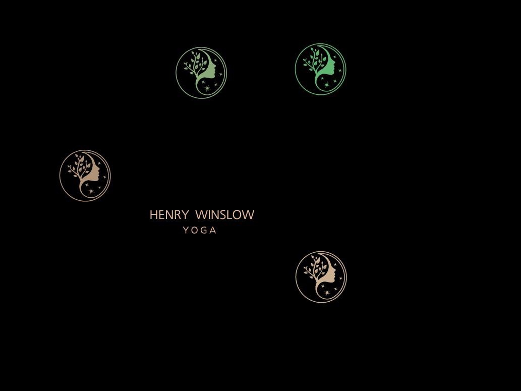 Design a new logo for an advanced yoga teacher