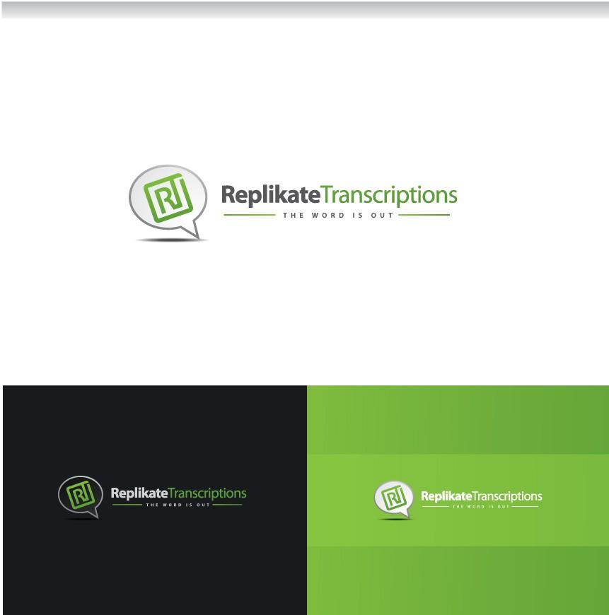 Replikate Transcriptions needs a new logo