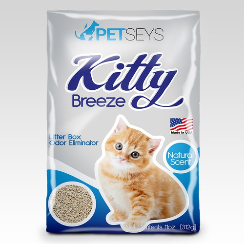 Kitty Breeze Label