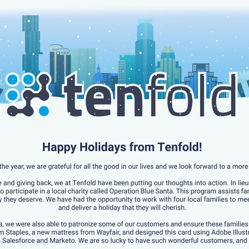 Tenfold Christmas E-Card