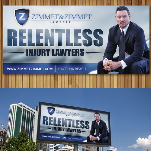 Lawyer Billboard that should be simple yet visually appealing