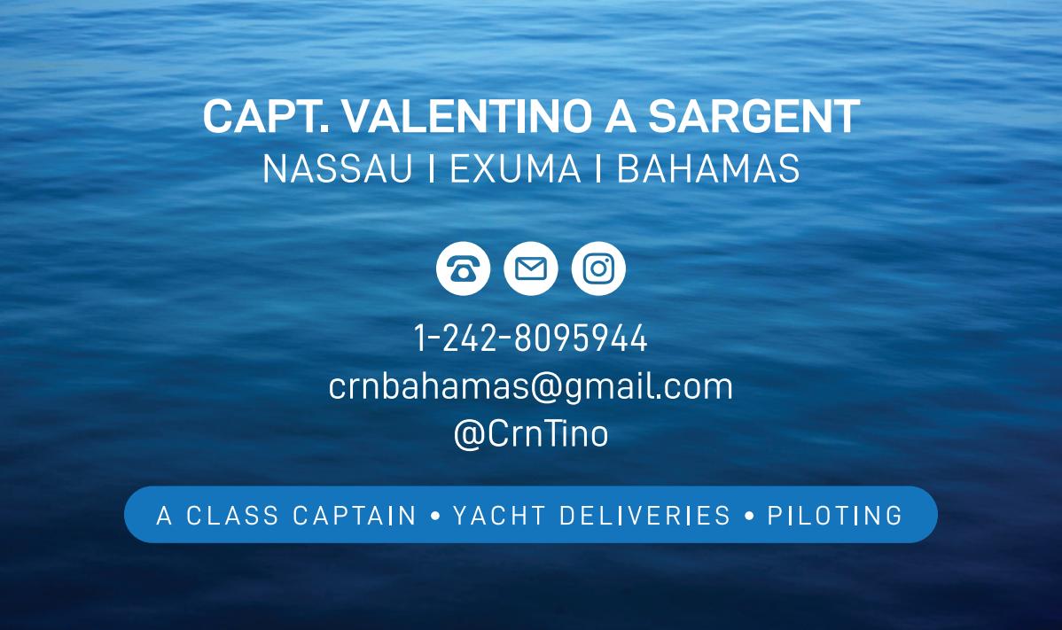 Captain Valentino A Sargent (Tino)