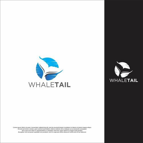 whal tail logo