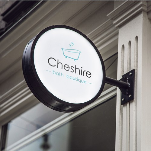 Elegant logo concept for Cheshire bath boutique