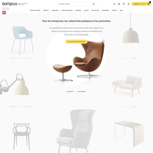 Furniture ecommerce
