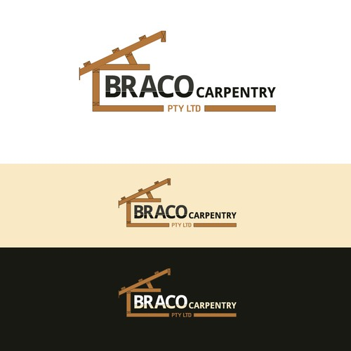 Logo for a carpentry company
