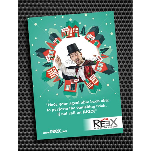 Create the next postcard or flyer for Reex