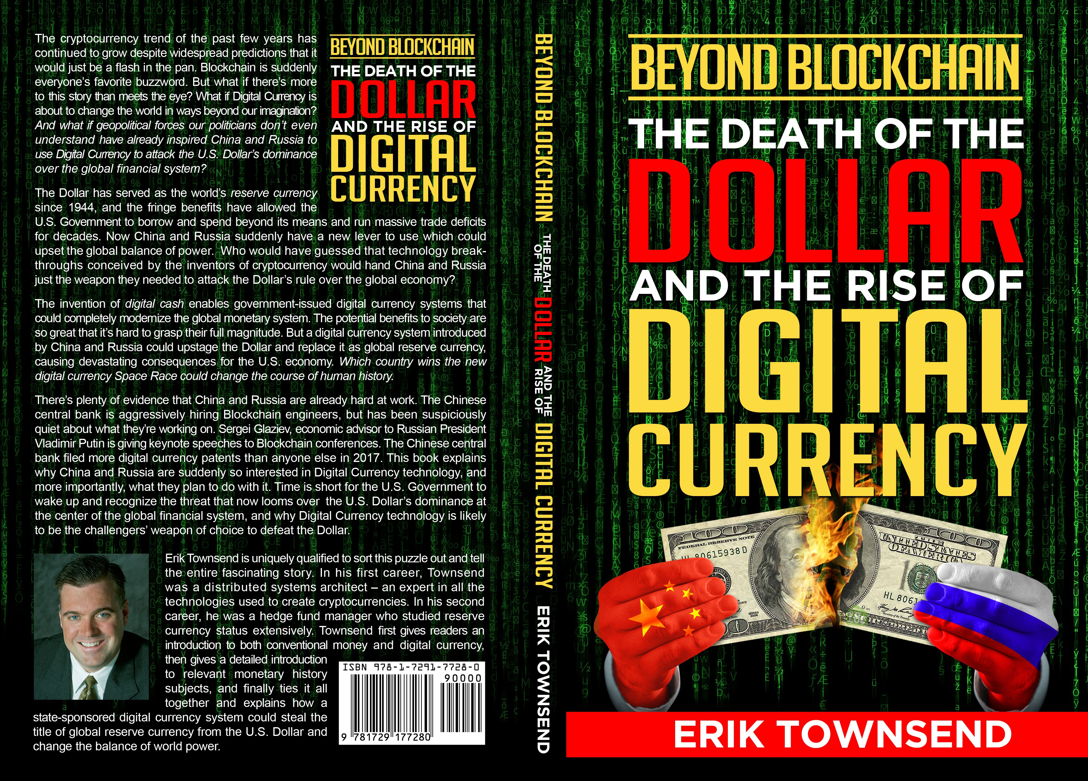 Design the cover for the book predicting the demise of the U.S. Dollar as global reserve currency!