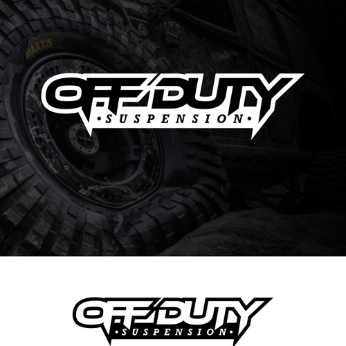 Logo concept for off duty suspension