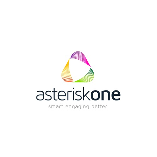 Creative and Bold Logo Concept for Asterisk One