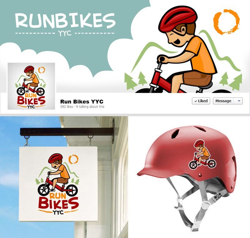 Kids (run) biking logo needed!