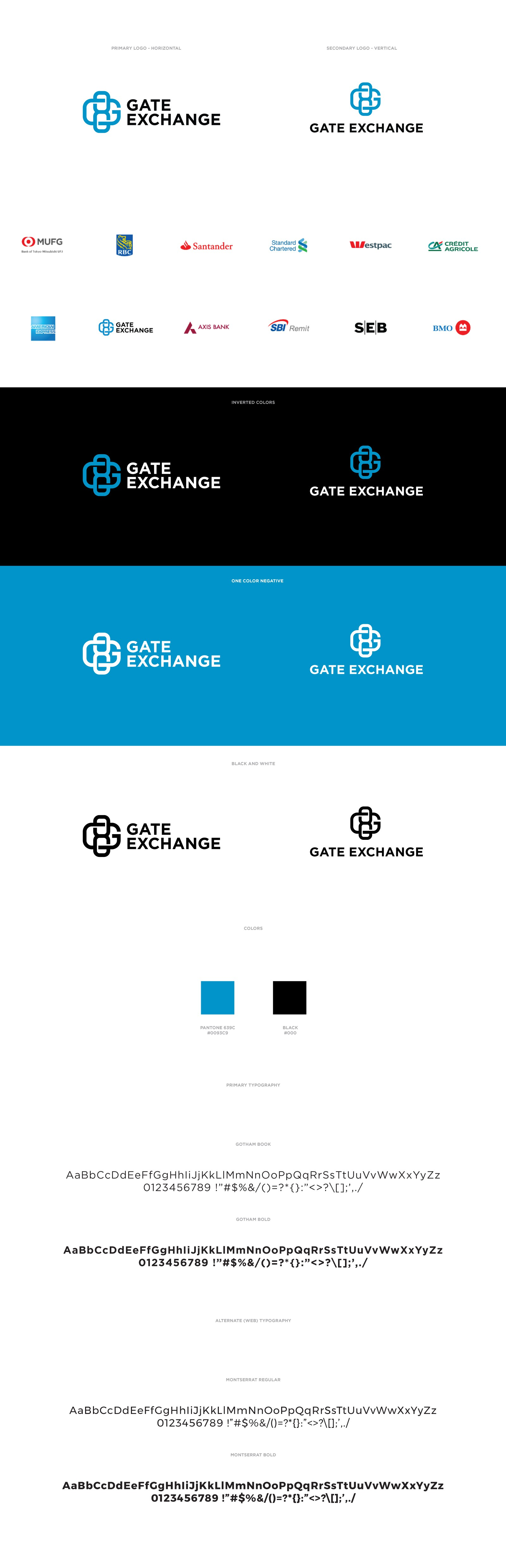 Symbolic geometric logo for digital currency exchange