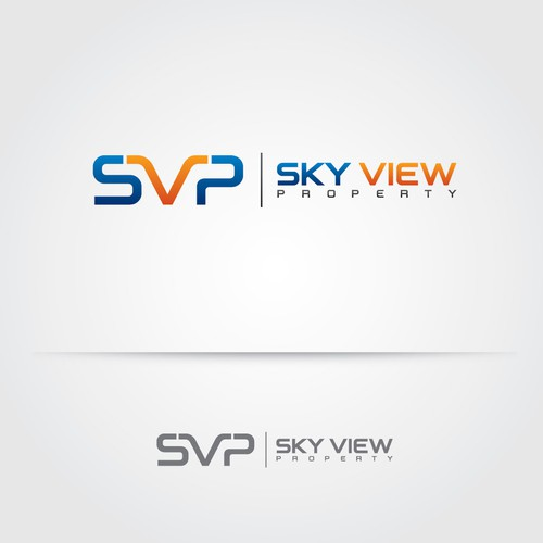 Modern logo concept for Sky View Property.