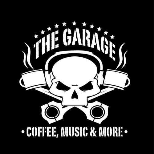 ROCKIN'! Bring this engine-themed coffee/music/art/vapor shop logo to life!