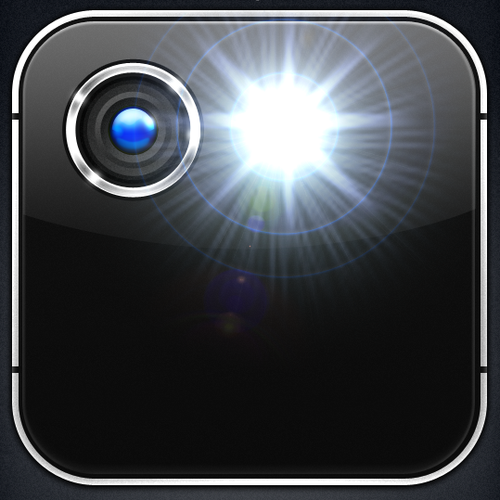 Flashlight iOS app icon