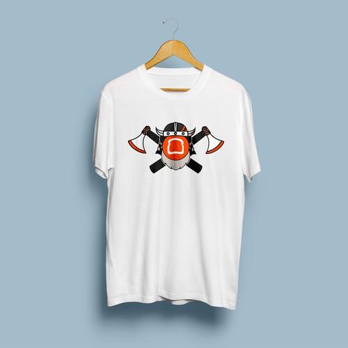 Viking logo for Sales Team T-Shirts