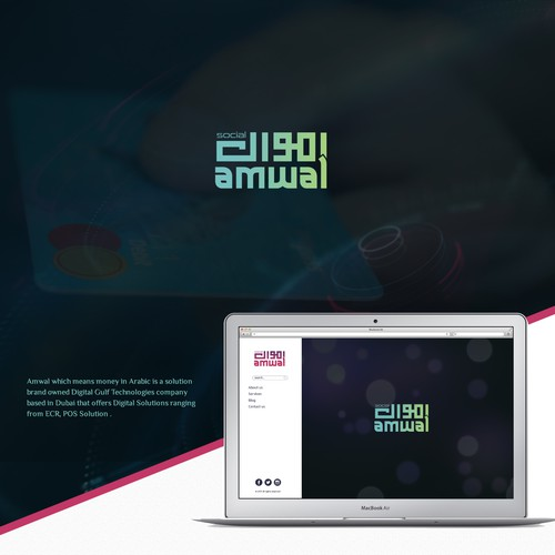 Bold logo concept for AMWAL