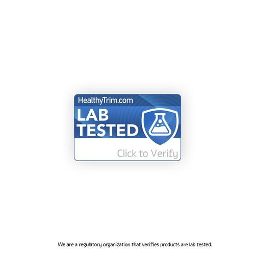 Bold logo for a health brand
