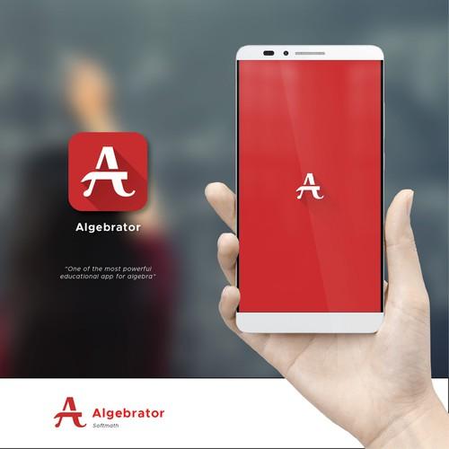 Splash and icon design for math education app