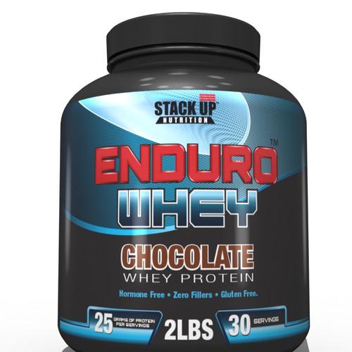 Enduro Whey Protein Label