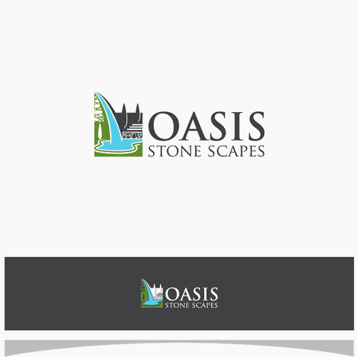 Logo for Oasis Stone Scapes.