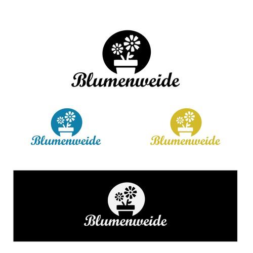 Blumenweide Logo