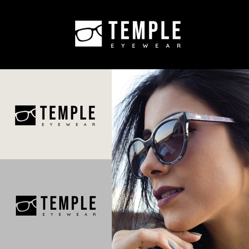 Logo design proposal for TEMPLE EYEWEAR