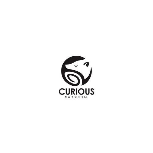 Sleek and modern logo for new technology company