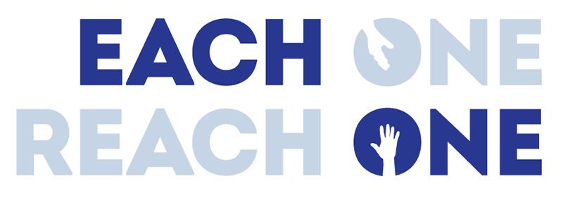 Create the next logo for Each One Reach One