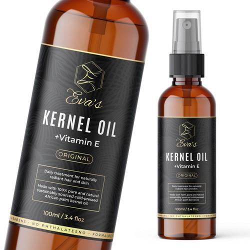 Kernel Oil Label Design