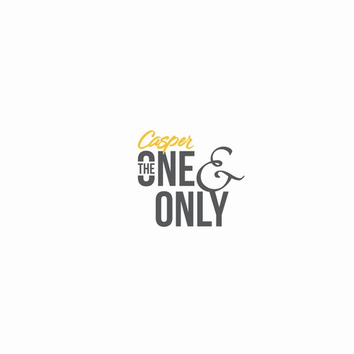 Authentic Logo Design for Casper The One & Only