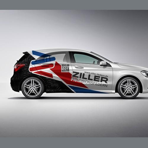 Mercedes A-class wrap for Ziller
